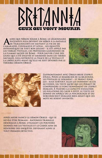 Page 7 Britannia - Ceux qui vont mourir