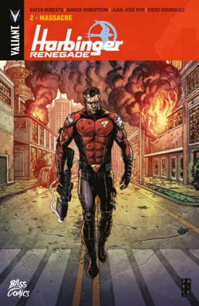 Couverture Harbinger renegade tome 2