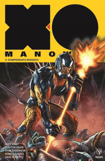 Couverture X-O manowar tome 2