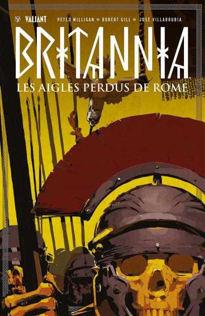 Couverture Britannia - Les aigles perdus de Rome