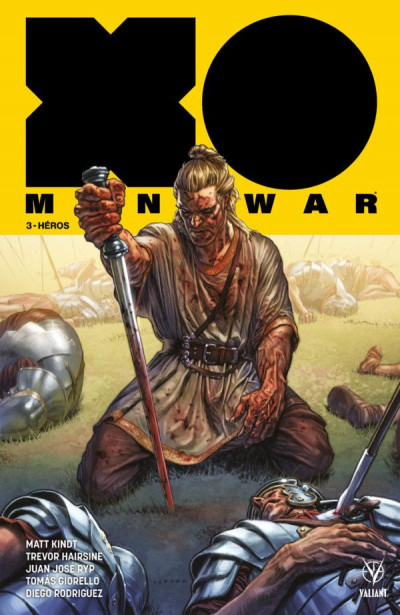 Couverture X-O manowar tome 3