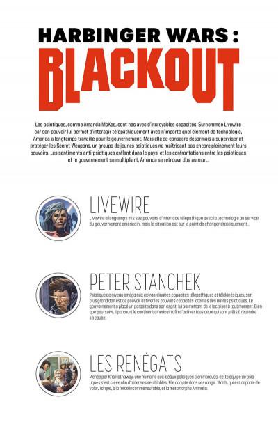 Page 7 Harbinger wars - Blackout