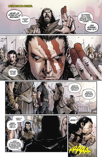 Page 8 Eternal warrior - Chroniques du guerrier éternel