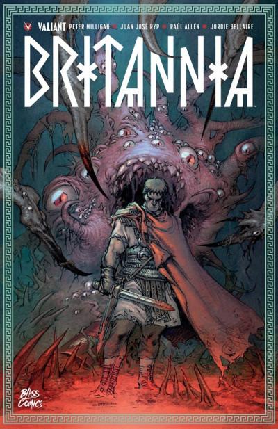 Couverture Britannia - couverture collector