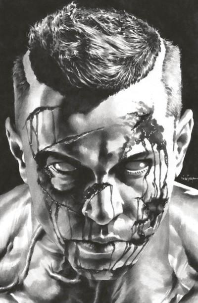 Couverture Bloodshot salvation tome 1 (édition limitée noir & blanc)