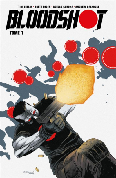 Couverture Bloodshot tome 1