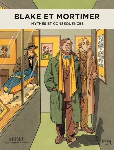 Couverture DBD magazine n°18 - Hors-Série - Blake & Mortimer