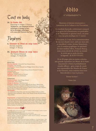 Page 6 Le petit léonard décodé