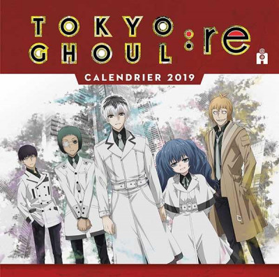 Couverture Calendrer Tokyo ghoul 2019