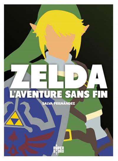 Couverture Zelda, l'aventure sans fin