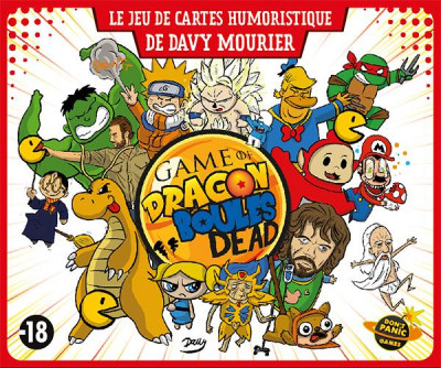 Couverture game of dragon ; boules dead
