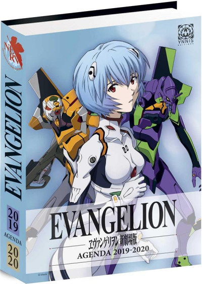 Couverture Evangelion - neon genesis - agenda 2019/2020