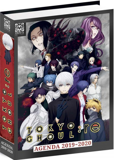 Couverture Tokyo ghoul : Re - agenda 2019/2020