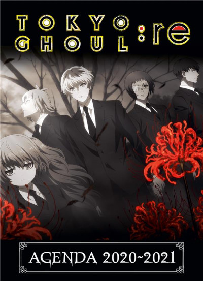 Couverture Tokyo ghoul : RE - agenda 2020-2021