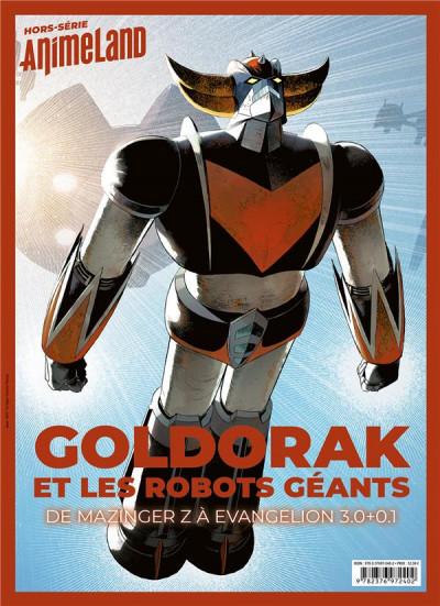 Couverture Animeland - HS - Goldorak et les robots géants