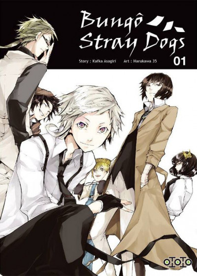 Couverture Bungô stray dogs tome 1