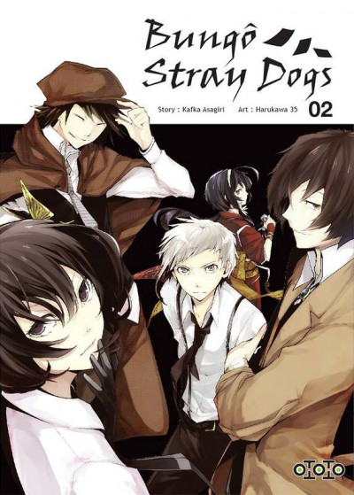 Couverture Bungô stray dogs tome 2