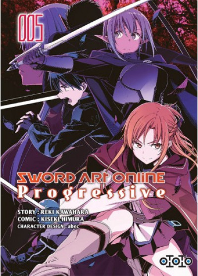 Couverture Sword art online - Progressive tome 5