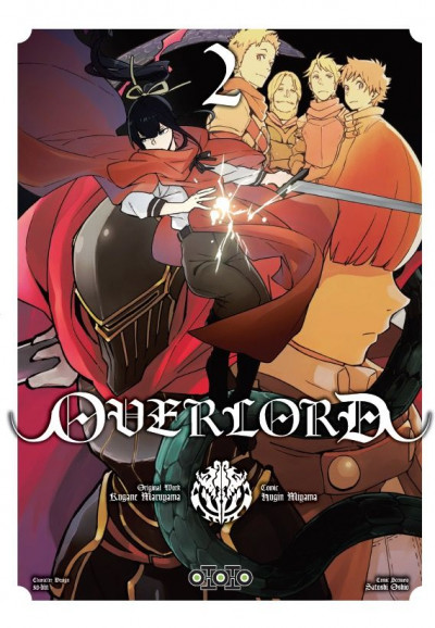 Couverture Overlord tome 2