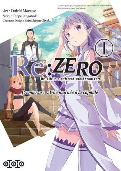 Couverture Re : Zero tome 1