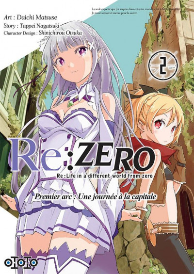 Couverture Re : Zero tome 2
