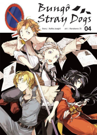 Couverture Bungô stray dogs tome 4