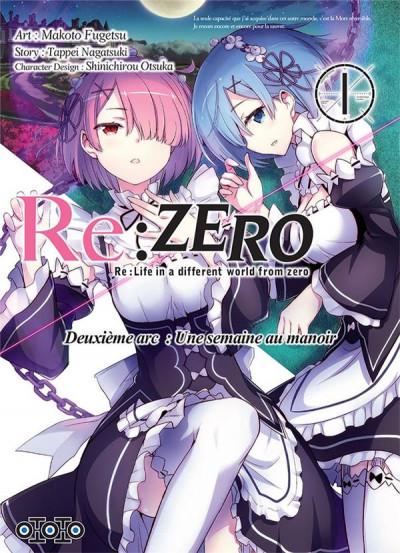 Couverture RE : zero - deuxième arc tome 1