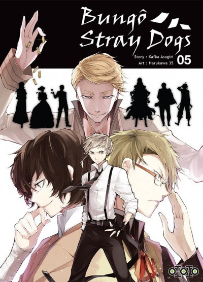 Couverture Bungô stray dogs tome 5
