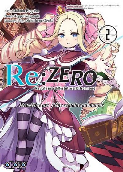 Couverture Re : Zero - deuxième arc tome 2