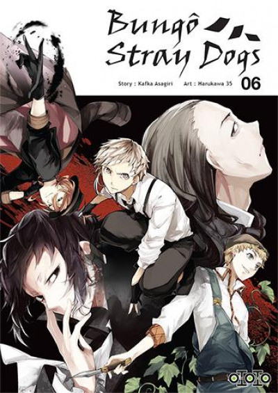 Couverture Bungô stray dogs tome 6