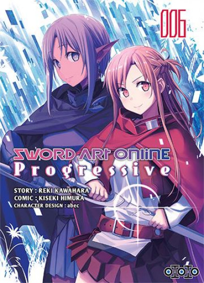 Couverture Sword art online - progressive tome 6