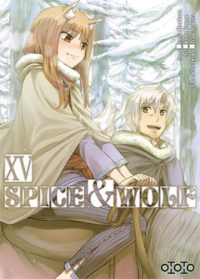 Couverture Spice & wolf tome 15