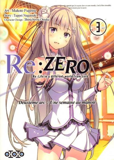 Couverture Re : Zero - deuxième arc tome 3