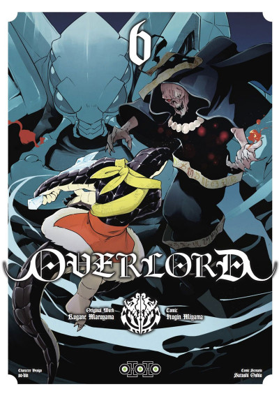 Couverture Overlord tome 6