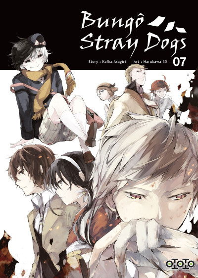 Couverture Bungô stray dogs tome 7