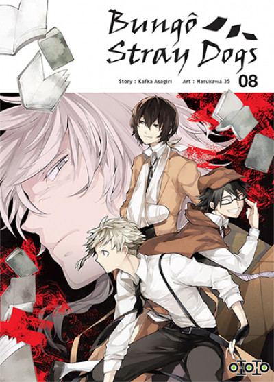Couverture Bungô stray dogs tome 8
