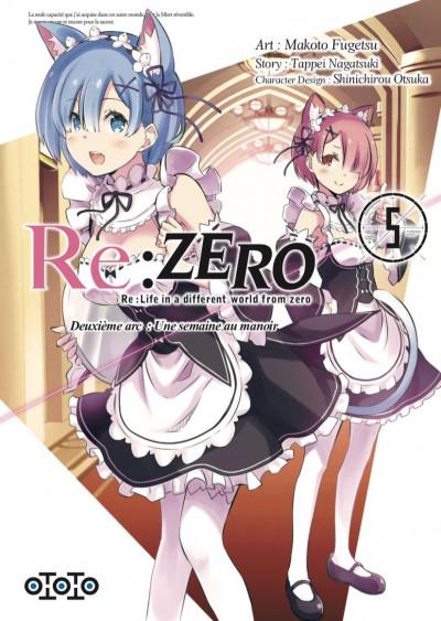 Couverture Re : Zero - deuxième arc tome 5