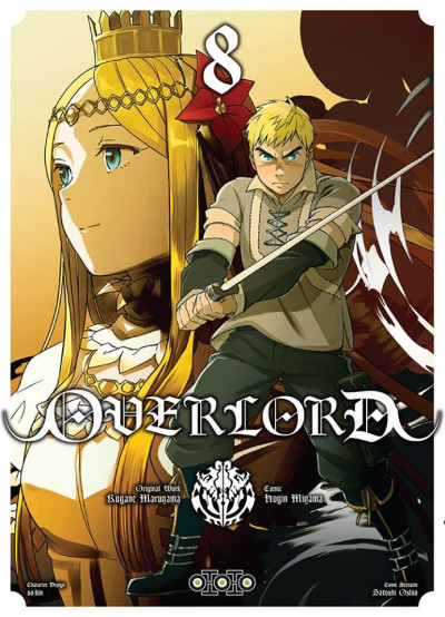 Couverture Overlord tome 8