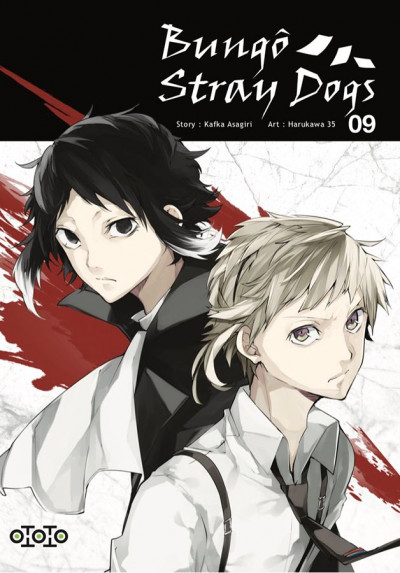 Couverture Bungô stray dogs tome 9