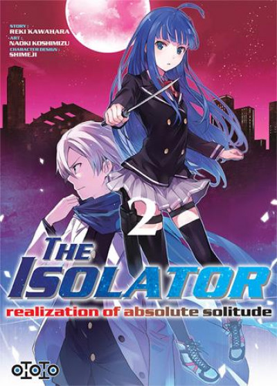 Couverture The isolator tome 2