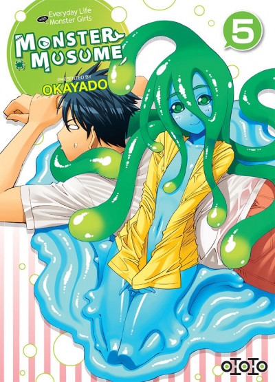Couverture Monster musume tome 5