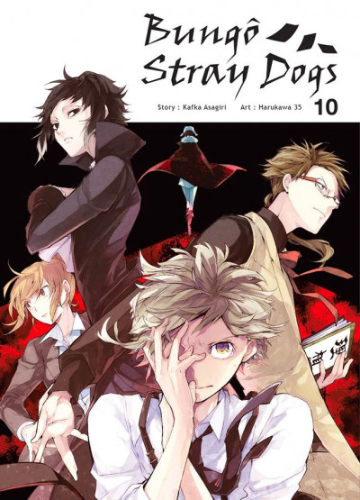 Couverture Bungô stray dogs tome 10