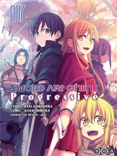 Couverture Sword art online - progressive tome 7