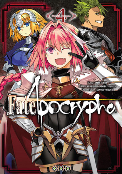 Couverture Fate/Apocrypha tome 4