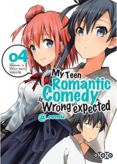 Couverture My teen romantic comedy tome 4