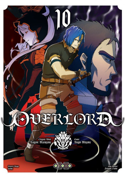 Couverture Overlord tome 10