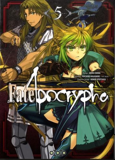 Couverture Fate/Apocrypha tome 5