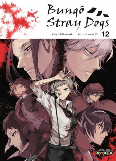 Couverture Bungô stray dogs tome 12