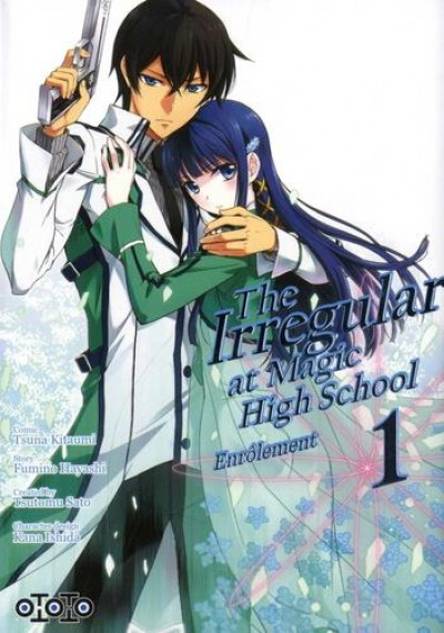 Couverture The irregular at magic high school - enrôlement tome 1