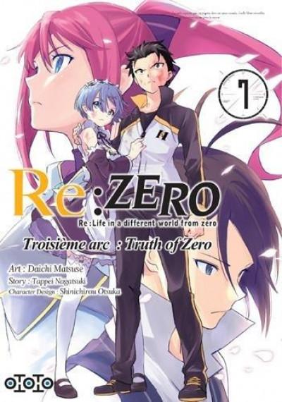 Couverture Re : Zero - Troisème arc : truth of zero tome 7